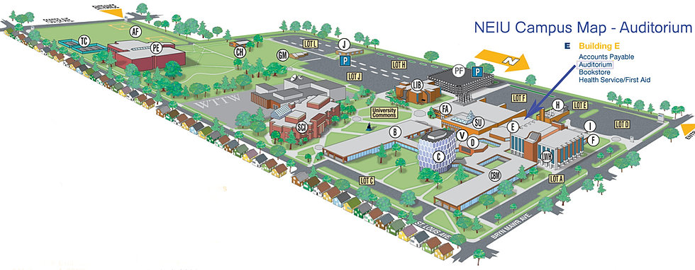 All About Campus Map Illinois Www Kidskunst Info