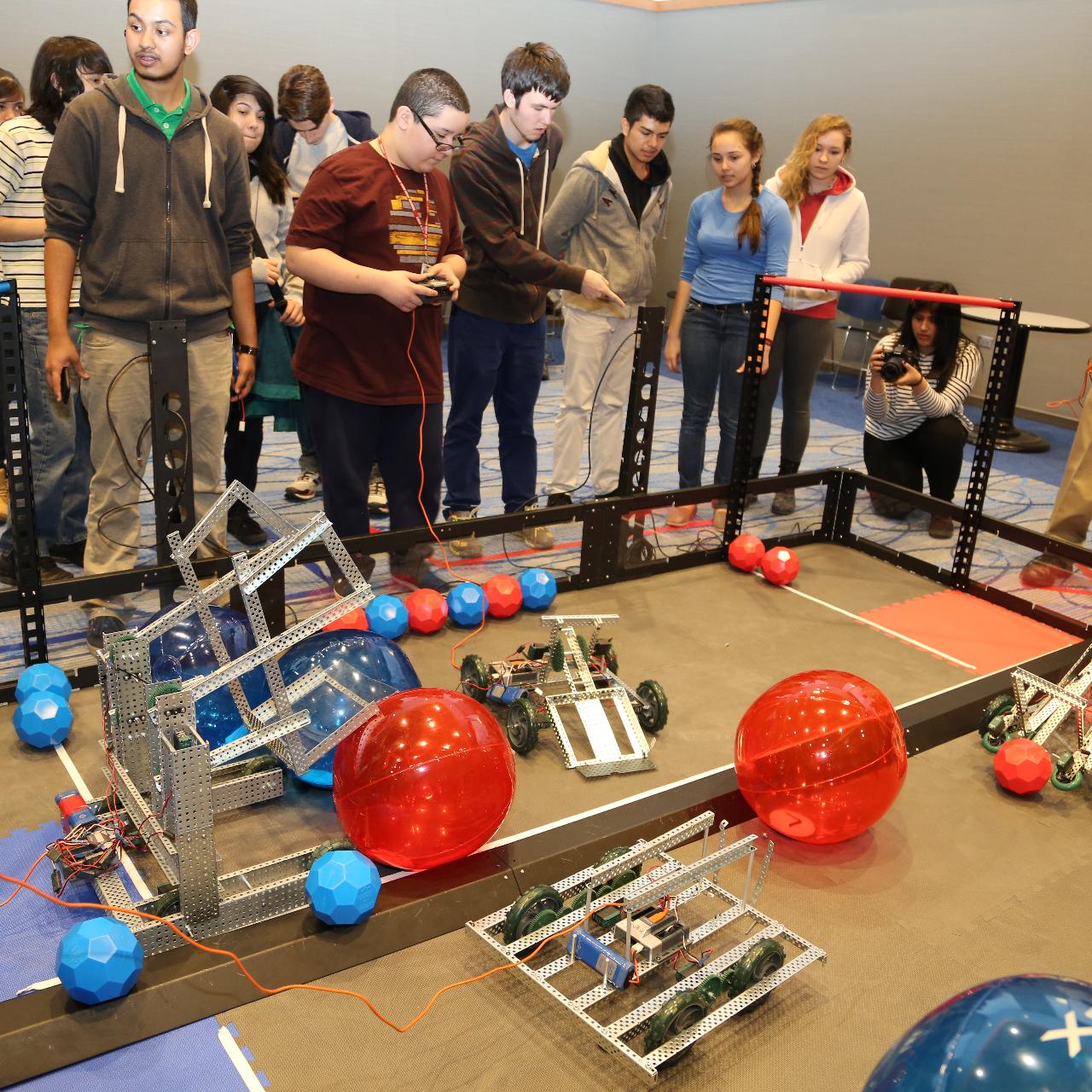 Robotics Event Square