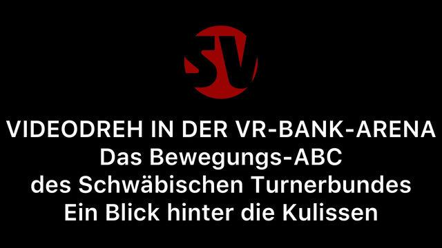 VR-BANK-ARENA DREHORT FÜR DAS NEUE BEWEGUNGS-ABC