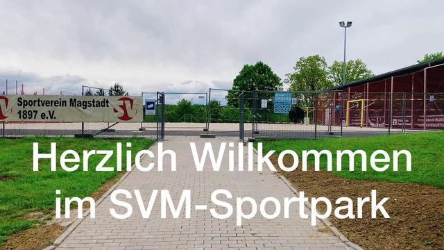 SVM-Sportpark - unser Wege- und Hygienekonzept