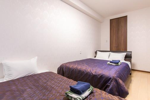 2 bedroom-Quadruple room
