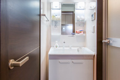 Double room-Bathroom sink
