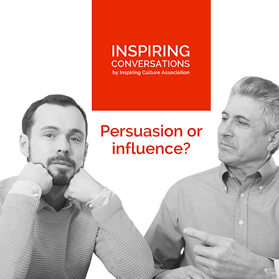 Persuasion or influence?