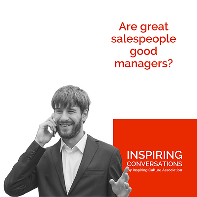 Are great salespeople good managers?
