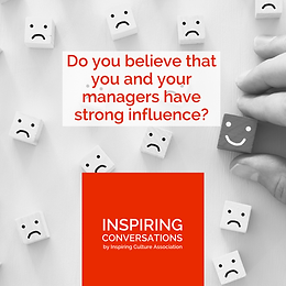 Do you believe that you and your managers have a strong influence?