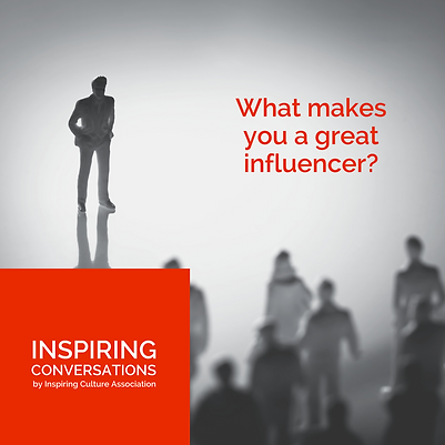 What makes you a great influencer?
