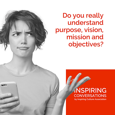Do you really understand purpose, vision, mission and objectives?