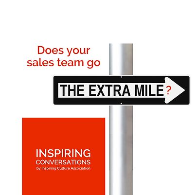 Does your sales team go the extra mile?