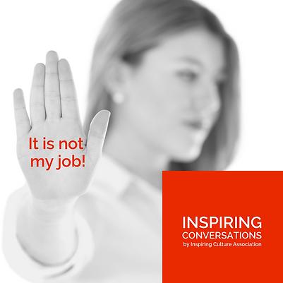 It is not my job!
