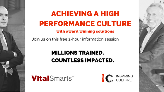 3 tool sets for achieving a high performance culture