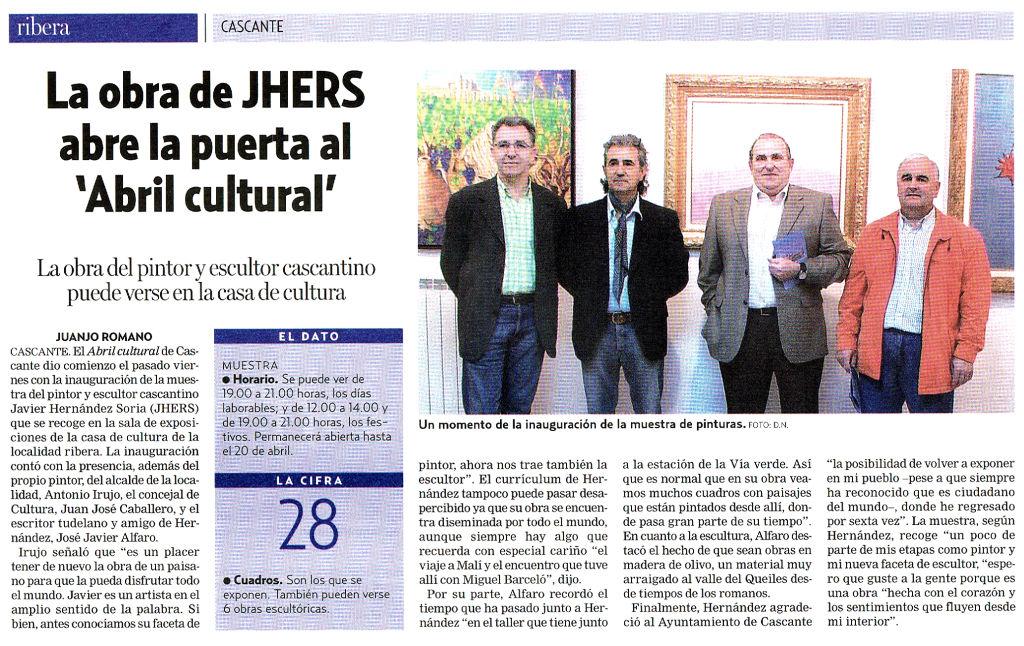 2008.04.12.diarionoticias. La obra de jhers abre la puerta al abril cultural.jpg