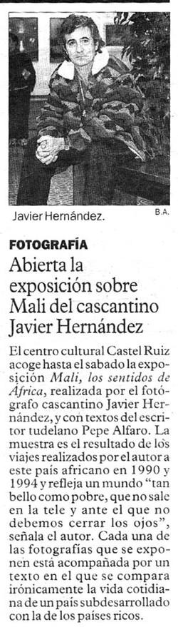 1996.12.19.diario de noticias. abierta la exposicion sobre mali del cascantino j