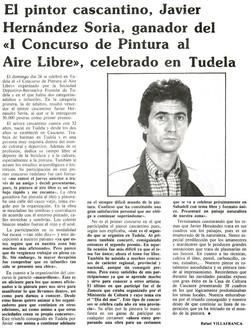1982.10.15. cronica de la ribera. el pintor cascantino jhs ganador del concurso