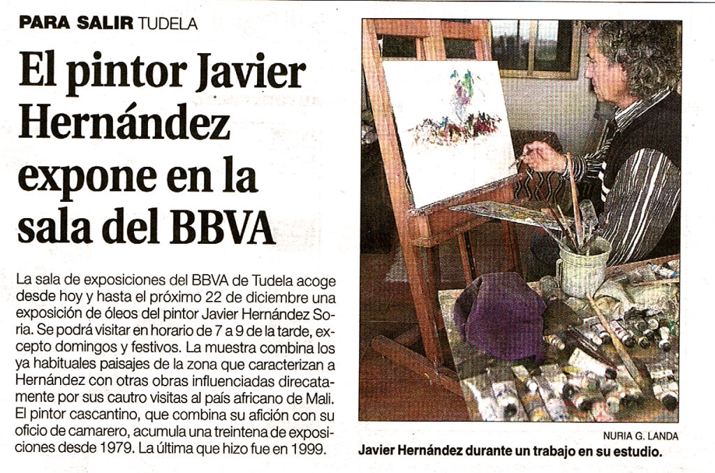 2006.12.12.dn. el pintor javier hernandez expone en la sala del bbva.jpg