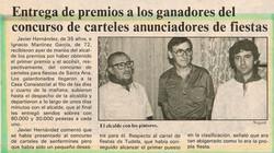 1985.07.25.dn.entrega de premio a los ganadores del concurso de carteles anuncia