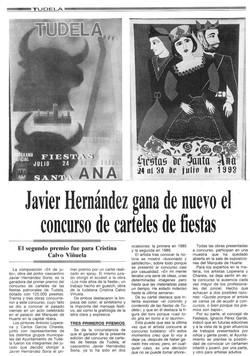 1993.05.15. javier hernandez gana de nuevo el concurso de carteles de fiestas.jp