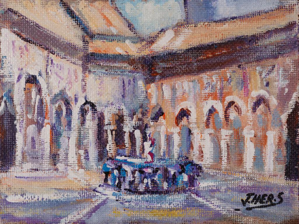 Patio de los Leones - Granada R 9635