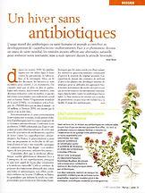 image article un hiver sans antibiotique