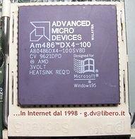 CPU AMD 486 DX4-100