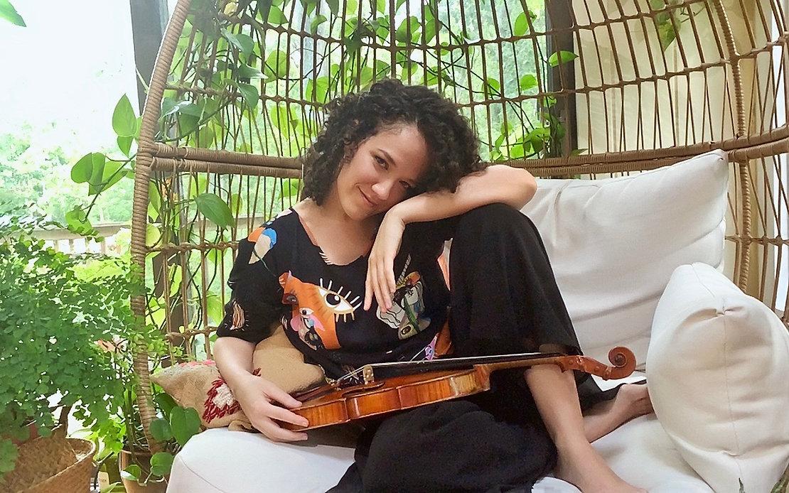 Julia Rodrigues Maiani da Silva violino violin violinista violinist New York Los Angeles Sao paulo