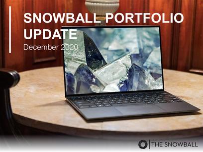 Snowball Portfolio Update | December 2020
