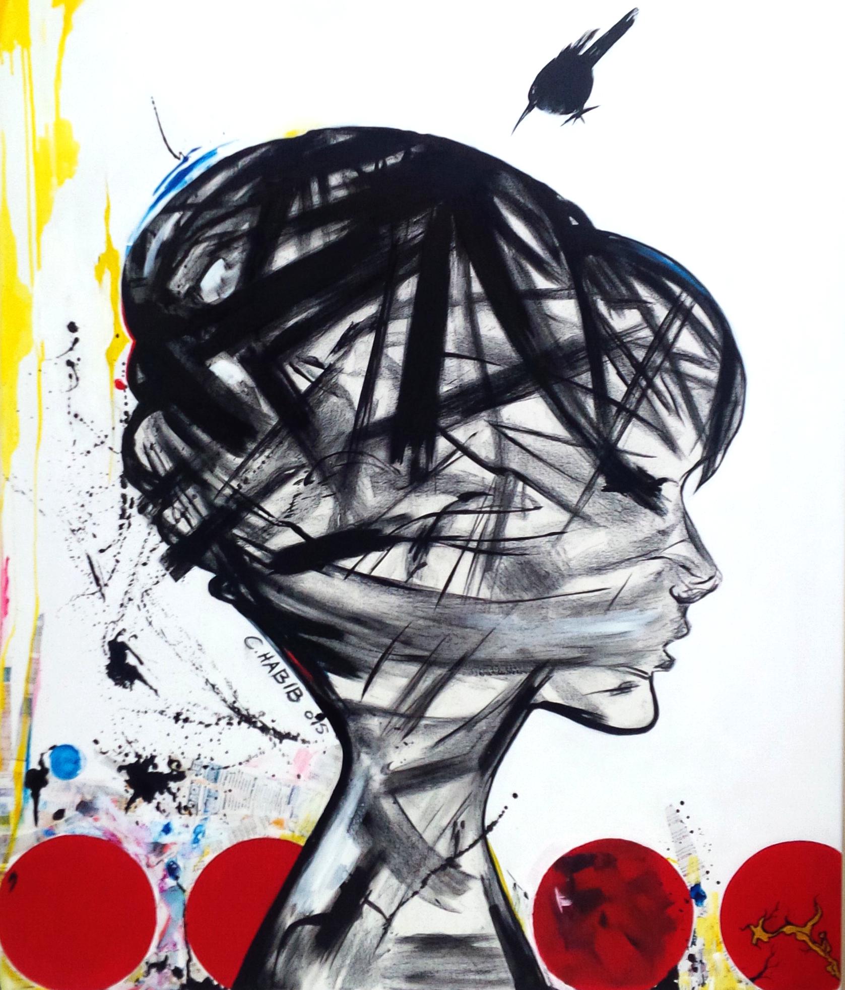 BEYOND - Acrylic on canvas- 120x100cm- C