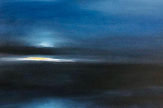 Abstract 1, Oil on canvas, 60x60cm, Mahr