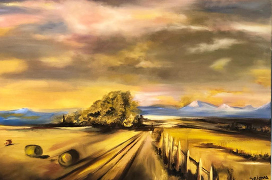 Landscape III, Oil on canvas, 70x50cm, S