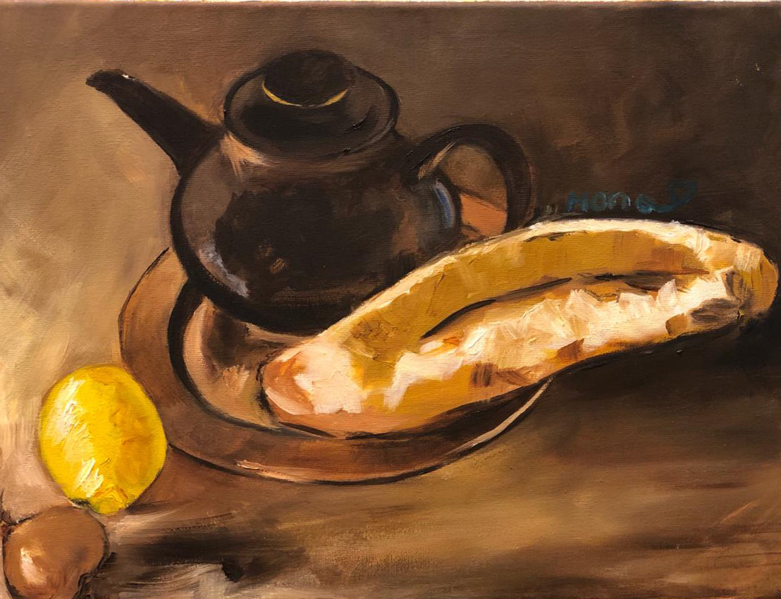 Still Life II, Oil on canvas, 40x30cm, M
