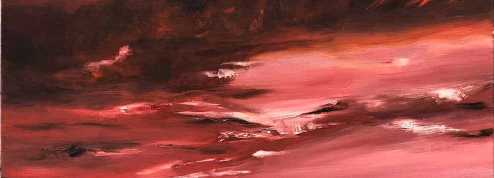 Landscape II, Oil on canvas, 60x40cm, Da