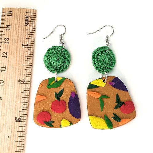 Garden variety earrings