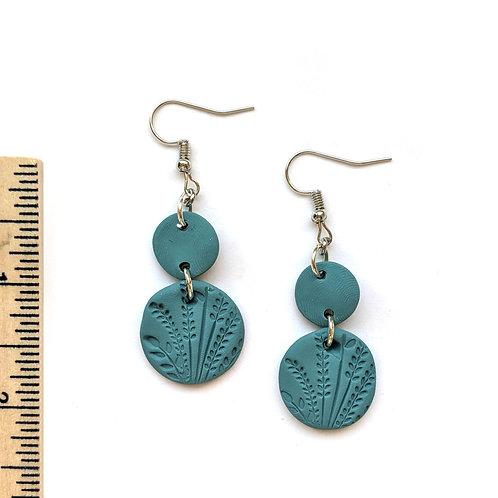 Turquoise harvest earrings