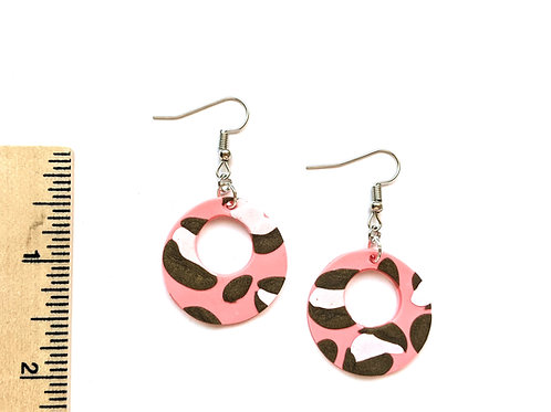 pretty in panther earrings