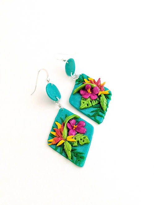 tropical paradise earrings