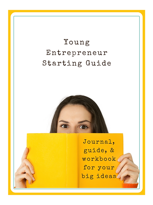 Young Entrepreneur Starting Guide