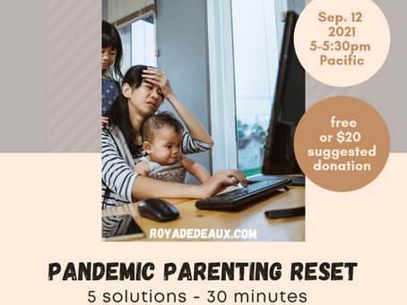 Parenting during a pandemic SUCKS