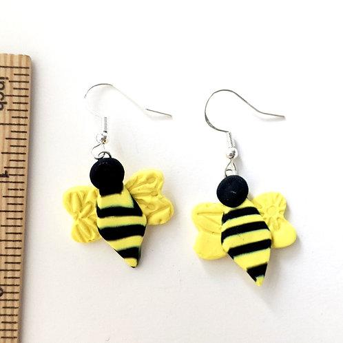 Buzzy Bee earrings