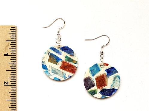 Just like sea glass earrings