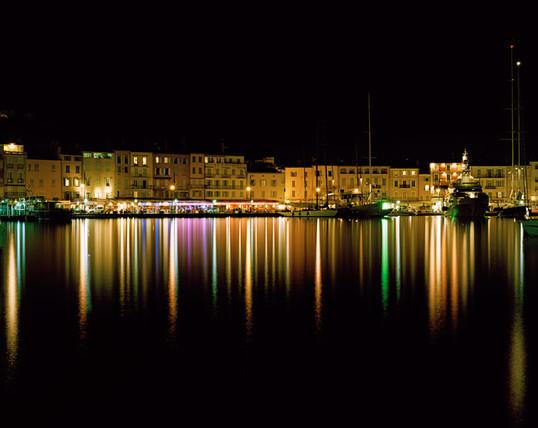 St. Tropez Harbor Night