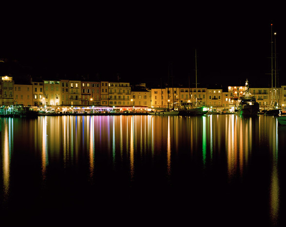 St. Tropez Harbor Night