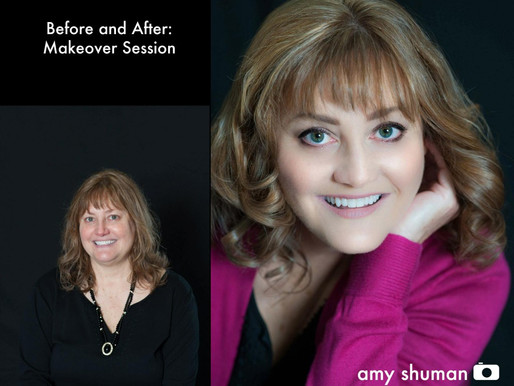 Before and After: Makeover Photo Shoot