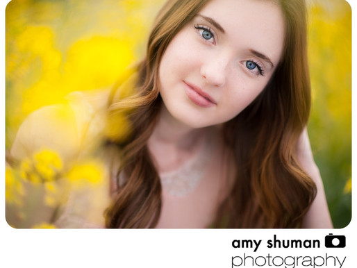McKenna and Wildflowers, Sacramento Portrait Photographer