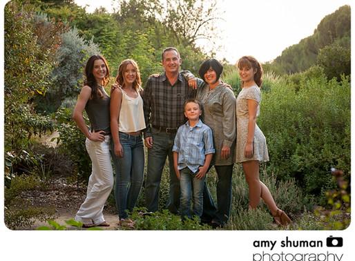 Family Portraits by Davis CA photographer