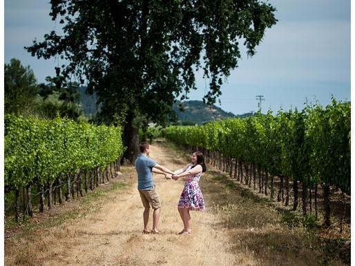 Napa Wedding Proposal by Sacramento Wedding Photographer {Tom and Amanda}