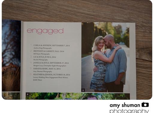 Amy Shuman Photography in Spring/Fall Sacramento Bride and Groom Magazine