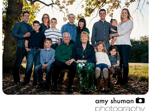 Extended Family Portraits by Davis, CA photographer: The Agee's