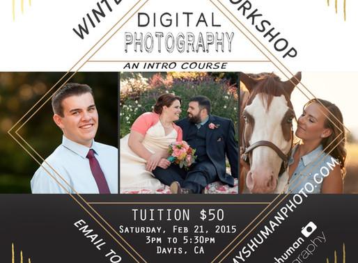 Intro to Digital Photography Class, Davis, CA workshop