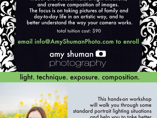 Digital Photography Class, Davis CA Workshop