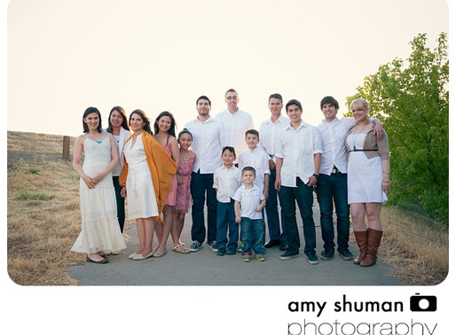 Extended Family Portraits, Sacramento CA Photographer