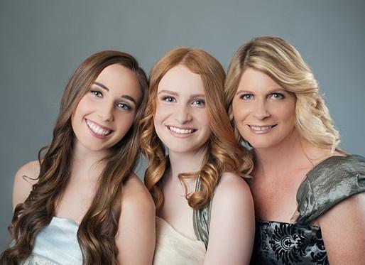 Mother Daughter Portrait Makeover Session – Davis, CA Photographer